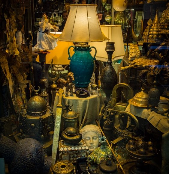 belles lampes au grand bazar d'Istanbul