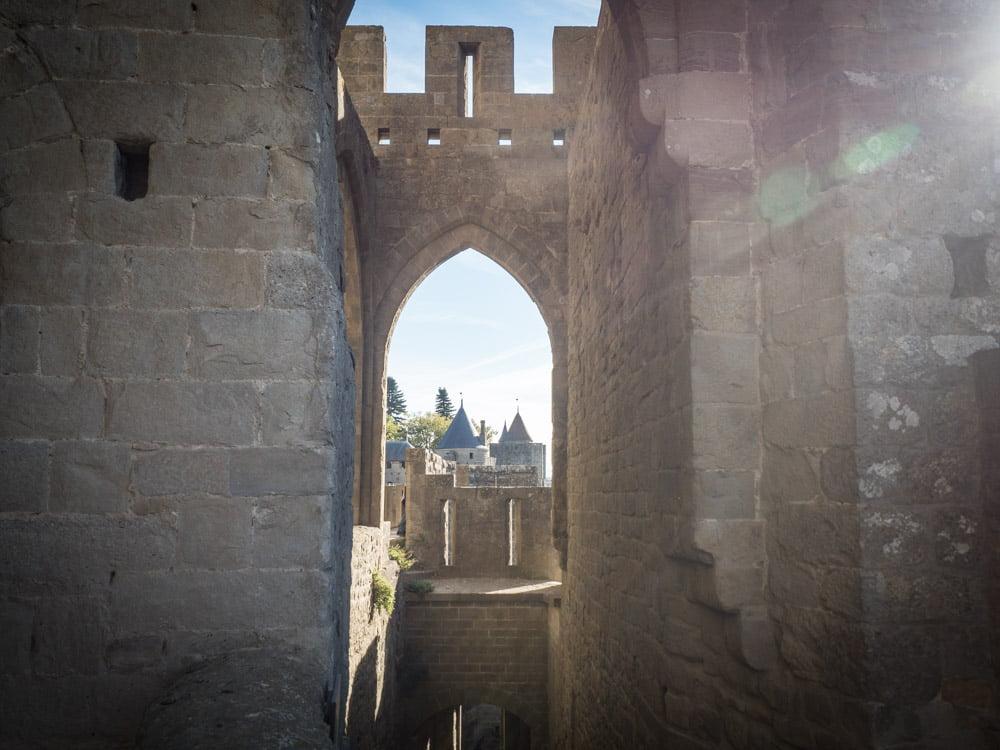 porte entrée cite carcassonne