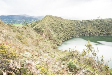 légende el dorado à la laguna guatavita en colombie