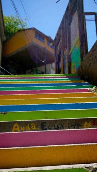 visiter valparaiso et ses escaliers de couleur au chili