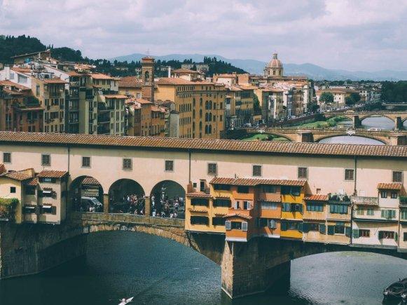 ponte vecchio à florence en toscane