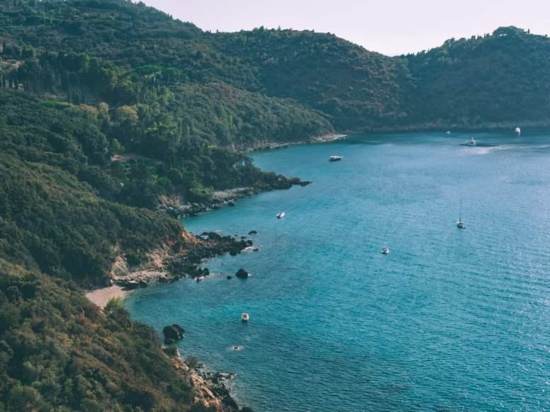 criques et plages monte argentario lors d'un road trip en toscane