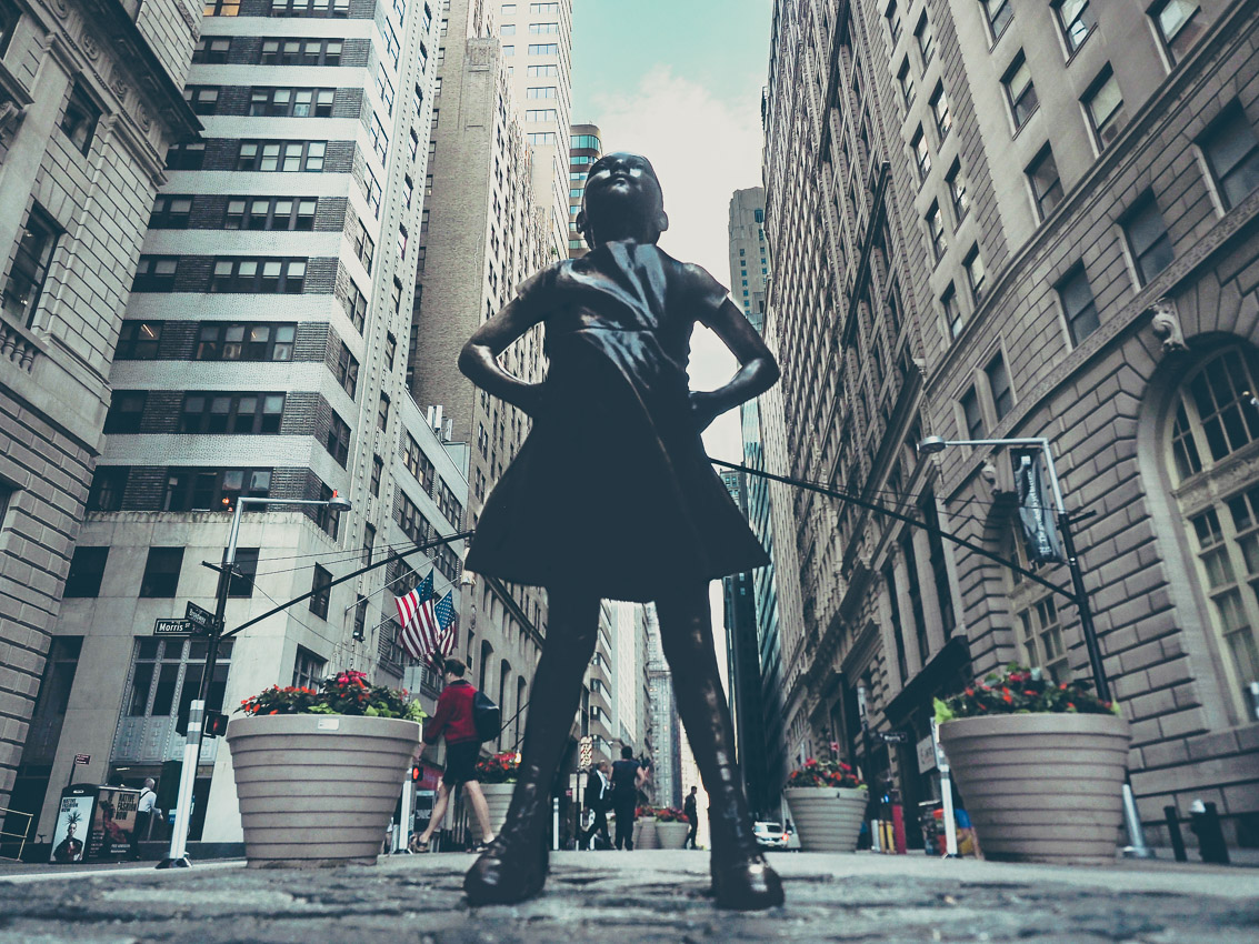Fearless Girl à New York