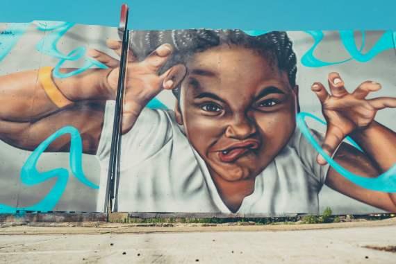street art à bushwick avec new york en francais