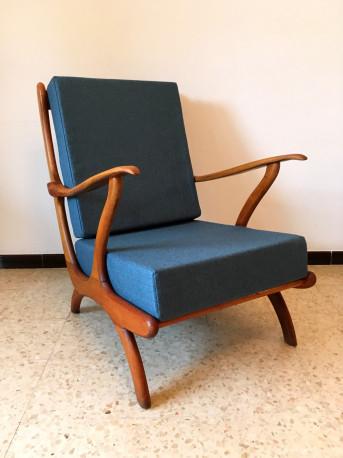 fauteuil scandinave annees 50 vintage