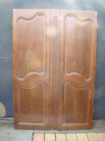 porte d armoire chene ancienne