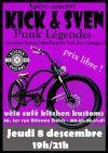"""8 décembre 2016 Kick & Sven à Orléans """"Vélo Café Kitchen Kustoms"""""""