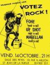 """14 Octobre 1988 Fohe, Up Shot, Magellan à Saint Jean de la Ruelle """"Salle des Fêtes"""""""