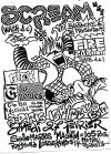 """27 février 1988 Scream, Fire Party, Flitox, Les Gnomes, Ghetto Activité à Paris """"Salle Marius Magnin"""""""