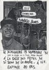 """13 Septembre 1992 RIP, Concrete Idea, Portobello Bones à Saint Jean de la Ruelle """"Salle des Fêtes"""""""
