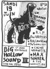 """19 juin 1993 RIP, Grifters, Big Lawrence é the Turkey mens, Caline Georgette, Max Summer à Saint Jean de la Ruelle """"Salle des Fêtes"""""""