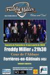 """14 mai 2016 Freddy Miller à Ferrières en Gatinais """"Cour de l'Abbaye"""""""