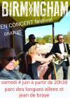 """4 juin 2016 Birmingham à Saint Jean de Braye """"Salle des Fêtes"""""""