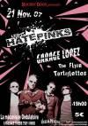 """21 novembre 2007 Hatepinks, Garage Lopez, Flyin Tartiflette à Paris """"La Mécanique Ondulatoire"""""""
