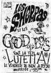 """16 novembre 1990 Good Old Boyz, les Sherpas à Orléans """"le Lutetia"""""""