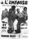 """17 mai 1991 Key Largo, Thompson Rollets à Orléans """"L'impasse"""""""