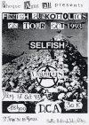 """17 octobre 1993 Uutus, DCA, Selfish à Saint Jean de la Ruelle """"Salle des Fêtes"""""""