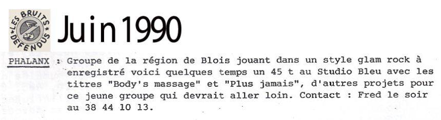 1990_06_BruitsDefendus_Phalanx