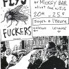 "31 janvier 1997 Fly's Fuckers, Dickybird à Olivet ""Mickey Bar"""