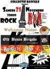 """21 novembre 2009 Welcome Noise, Old Bones Brigade, Brigitte Bop à Orléans """"MAM"""""""