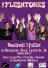 """3 juillet 2015 Fuzzy Vox, Cruskin, Skawax, Fanfaristan Orchestra, The Fleshtones à Blois """"la Guinguette"""""""