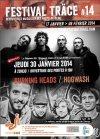 """30 janvier 2014 Hogwash, Burning Heads à Issy les Moulineaux """"Espace Icare"""""""
