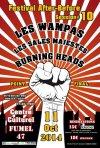 """11 Octobre 2014 Burning Heads, les Sales Majestés, les Wampas à Fumel """"Centre Culturel Paul Mauvezin"""""""