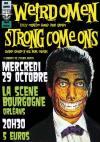 """29 octobre 2014 Strong Come Ons, Weirdomen à Orléans """"La Scène Bourgogne"""""""