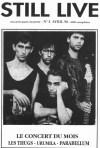 """30 avril 1990 Urumila, Les Thugs, Parabellum à Saint Etienne """"Mistral Gagnant"""""""