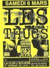 """6 mars 1993 100000 Indecis, Les Thugs à Saint Germain En Laye """"La Clef"""""""