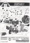 """19 janvier 1996 Hell's Cracks, Les Thugs à Issy Les Moulineaux """"Le Farenheit"""""""