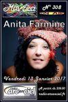 """13 janvier 2017 Anita Farmine à Fleury Les Aubrais """"Mavrica"""""""
