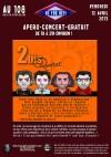 """12 avril 2013 2 Bis Quartet à Orléans """"le 108"""""""