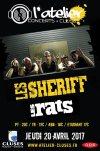 """20 avril 2017 les Sheriff, les Rats à Cluses """"l'Atelier"""""""