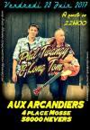 """23 juin 2017 Phil Twangy & Long Tom à Nevers """"Aux Arcandiers"""""""