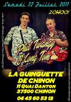 "22 juillet 2017 Phil Twangy & Long Tom à Chinon ""Guinguette"""