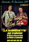 """22 juillet 2017 Phil Twangy & Long Tom à Chinon """"Guinguette"""""""