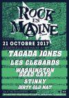 """21 octobre 2017 Dirty Old Mat, Stinky, Washington Dead Cats, Les Clebarts, Tagada Jones à Aigrefeuille Sur Maine """"Salle des Richardières"""""""