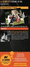 """8 juillet 2017 Sans Rien Dire, the Riots à Vienne En Val """"Salle des Fetes"""""""