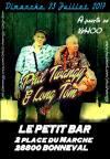 """23 juillet 2017 Phil Twangy & Long Tom à Bonneval """"Le Petit Bar"""""""