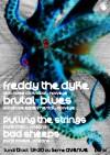 "13 octobre 2014 Freddy The Dyke, Brutal Blues, Pulling The Strings, Bad Sheeps à Orléans ""5ème Avenue"""