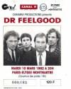 """10 mars 1992 Dr Feelgood à Paris """"Elysée Montmartre"""""""