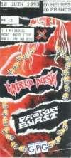 18 juin 1993 Hatred Dusk, Proton Burst à Ivry Sur Seine