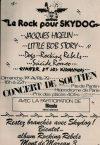 """1er avril 1979 Jacques Higelin, Little Bob Story, Dogs, Rocking Rebels, Suicide Romeo, Ginger et les Kidnappers à Paris """"Hippodrome de Paris"""""""