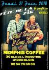 """21 juin 2018 Phil Twangy & Long Tom à Blois """"Memphis Coffee"""""""