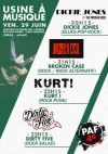 "29 juin 2018 Dirty Five, Kurt, Broken Case, Dickie Jones à Toulouse ""Usine à Musique"""