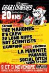 """3 novembre 2018 The Mahones, 8.6 Crew, 22 Longs Riffs, Not Scientist, Kavapunk à Saint Aubin de Baubigné """"Salle de la Roche"""""""