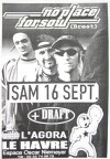 "16 septembre 2000 No Place For Soul, Draft au Havre ""L'Agora"""