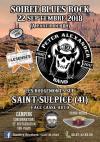 22 septembre 2018 Blesenses, Peter Alexander Band, What à Saint Sulpice