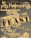 """21 octobre 1988 les Feast à Chaumussay """"le Ptit Paumé"""""""